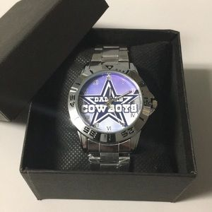 🔴 New Dallas Cowboys Watch With Box